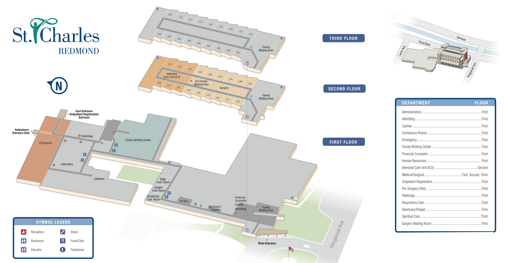 SCMC-Redmond-CampusMap